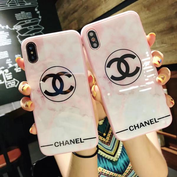 CHANEL iPhone Xs/Xs Maxケース