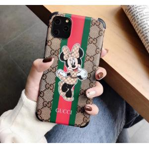 gucci & mickey iphone 11 proケース